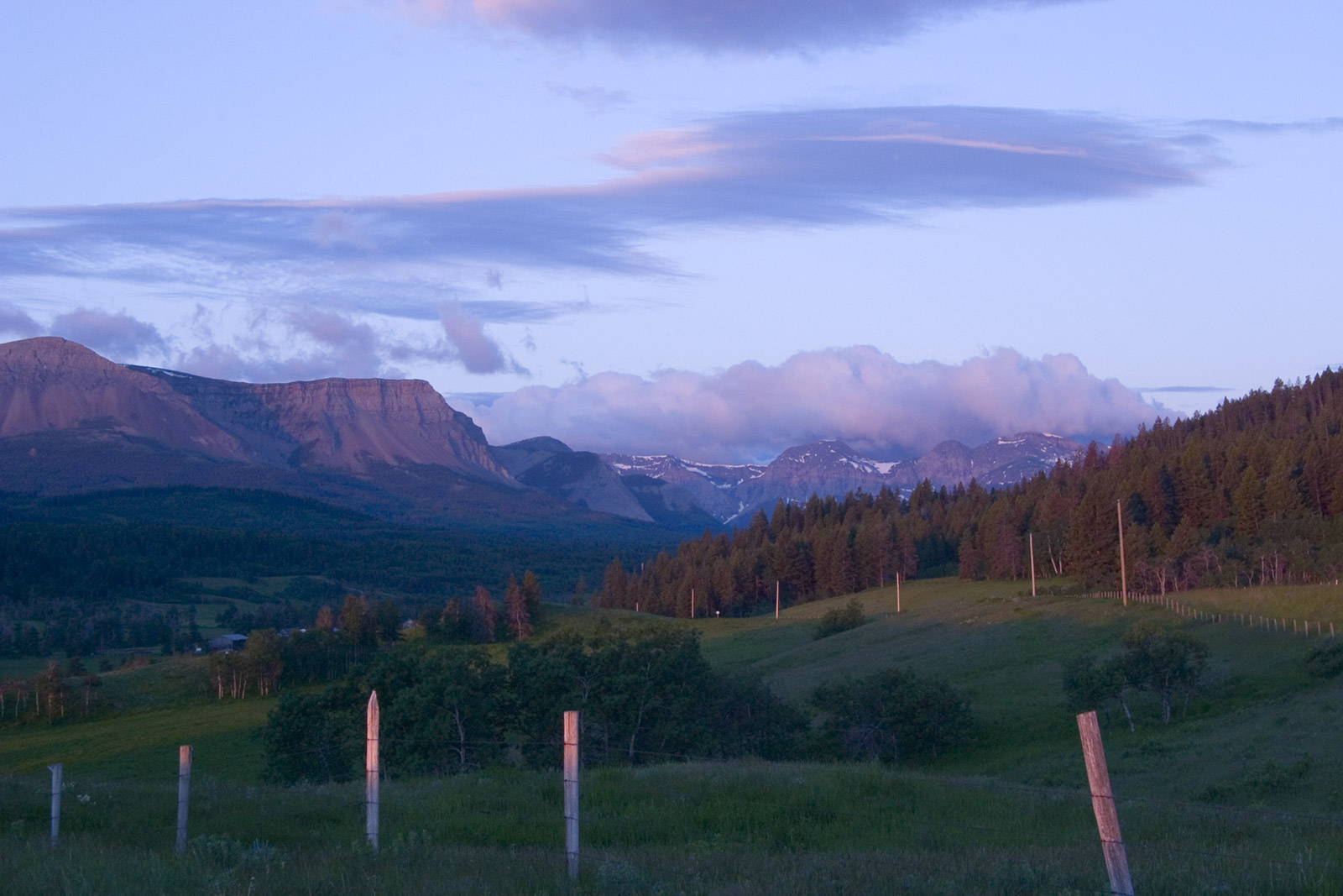 Alberta bed and breakfast near Crowsnest Pass